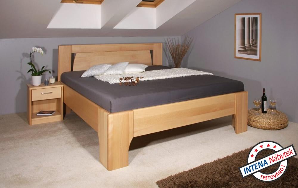 Takto může vypadat postel OLYMPIA 1 třeba ve vaší ložnici