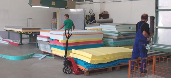 Jak se vyrábí matrace